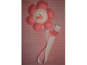 Portachupete flor